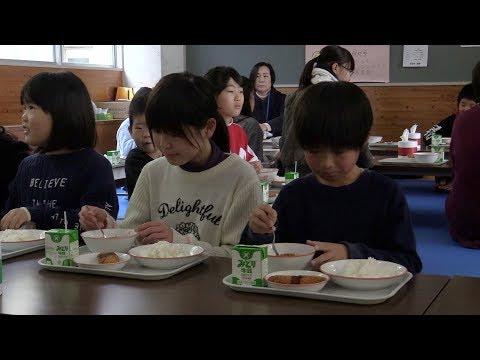 まちのできごと(広報うさH31.3月号)食育体験教室「ジビエ給食の日」