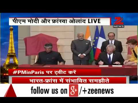PM Modi in Paris: France to invest 2 billion Euros in India; 17 deals signed