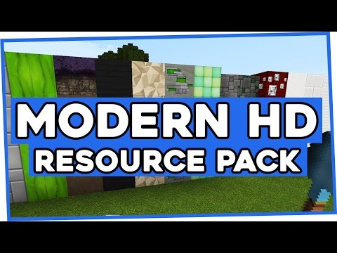 Modern HD Resource Pack for Minecraft 1.10.2 | Modern HD Texture Pack