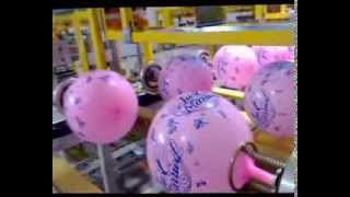 balloon printing machine, full balloon screen printing machine,holiday balloon