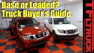 2017 Nissan Frontier Least vs Most Expensive Side by Side Buyer