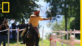 The Incredible Sport of Mounted Archery | National Geographic