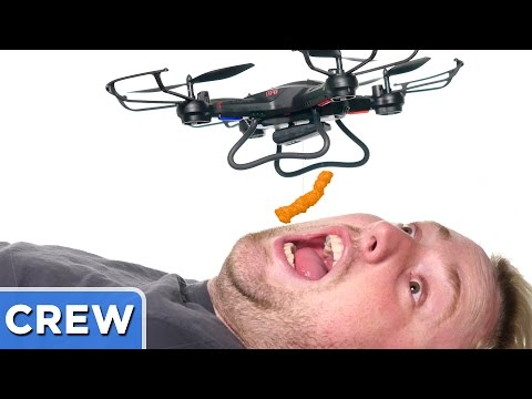 Drone Cheeto Eating Challenge | Good Mythical Crew Ep. 37