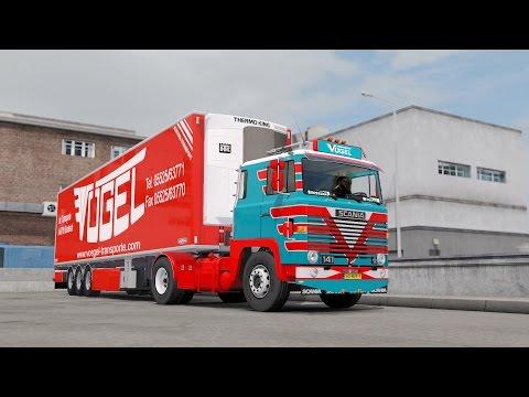 ETS 2 1.26 ProMods 2.15 Scania 141  Lodz - Bielsko-Biala