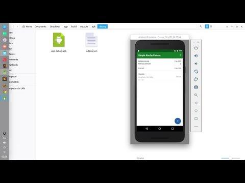 Cara Compile Project Android Menjadi .apk di Android Studio