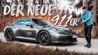 Porsche 911 Carrera 4S (992) | Bergpass Action! | Daniel Abt
