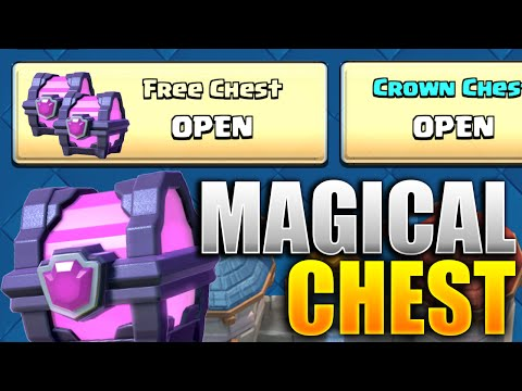 How To Get A FREE MAGICAL CHEST EASY! (Clash Royale Chest Pattern Revealed) Magical Chests Cycle!