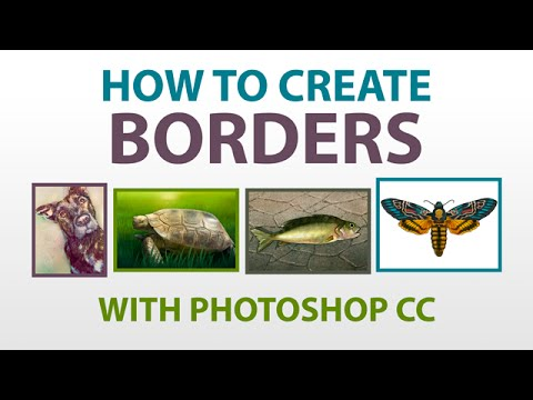 Adding Borders To Images with Photoshop CC