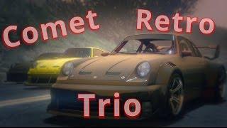 GTA 5: Comet Retro Trio #Editeur Rockstar# (Machinima)