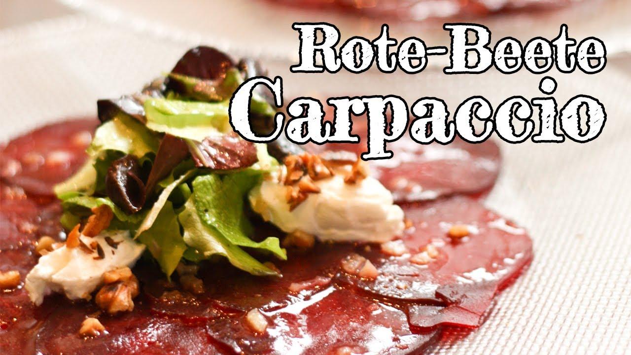 rezept rote beete carpaccio red kitchen folge 164. Black Bedroom Furniture Sets. Home Design Ideas