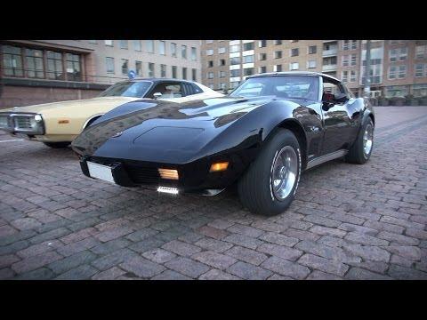 1976 Corvette Stingray C3 Resto Mod - startup and V8 sound