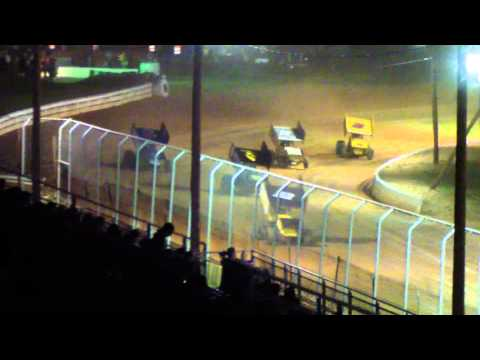 Port Royal Speedway 410 Sprints Car Highlights 5-04-13