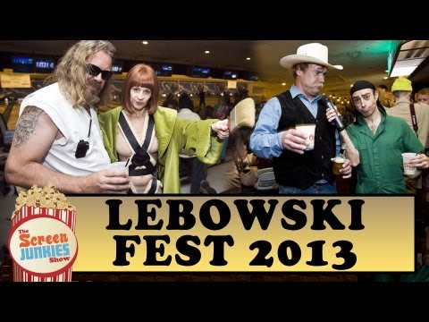 Getting Drunk at Lebowski Fest 2013