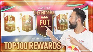 FIFA 19: PLATZ 94 DER WELT FUT CHAMPIONS TOP 100 REWARDS! 88+ WALKOUT + HEFTIGER PLAYER PICK ! 😱🔥