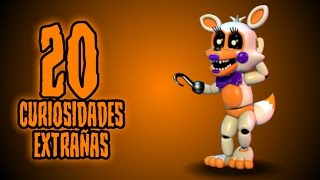 TOP: 20 CURIOSIDADES EXTRAÑAS DE LOLBIT EN FNAF SISTER LOCATION CUSTOM NIGHT