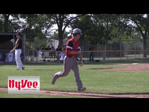 Centerville Baseball at Knoxville Game 1 Full Game 6-19-17