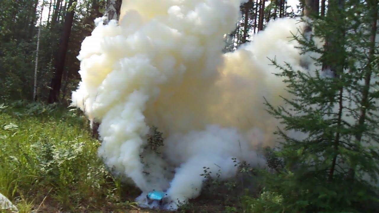 Как сделать дымовую шашку без селитры в домашних 367