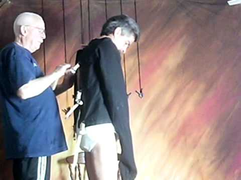 Diapered and put in Straitjacket - YouTube