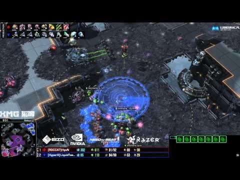 ZvT Hyun vs Taeja - Nimbus- Starcraft 2 HD polski komentarz