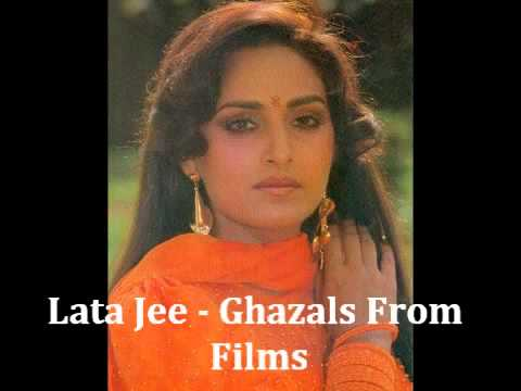 Best Of Lata Mangeshkar   Vol 9 Ghazals From Films   YouTube