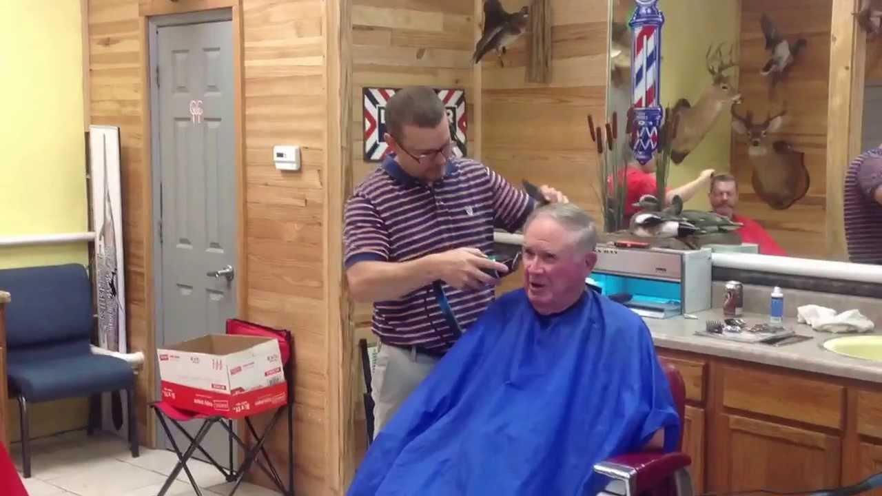 Barber Time : Old time barber shop - YouTube