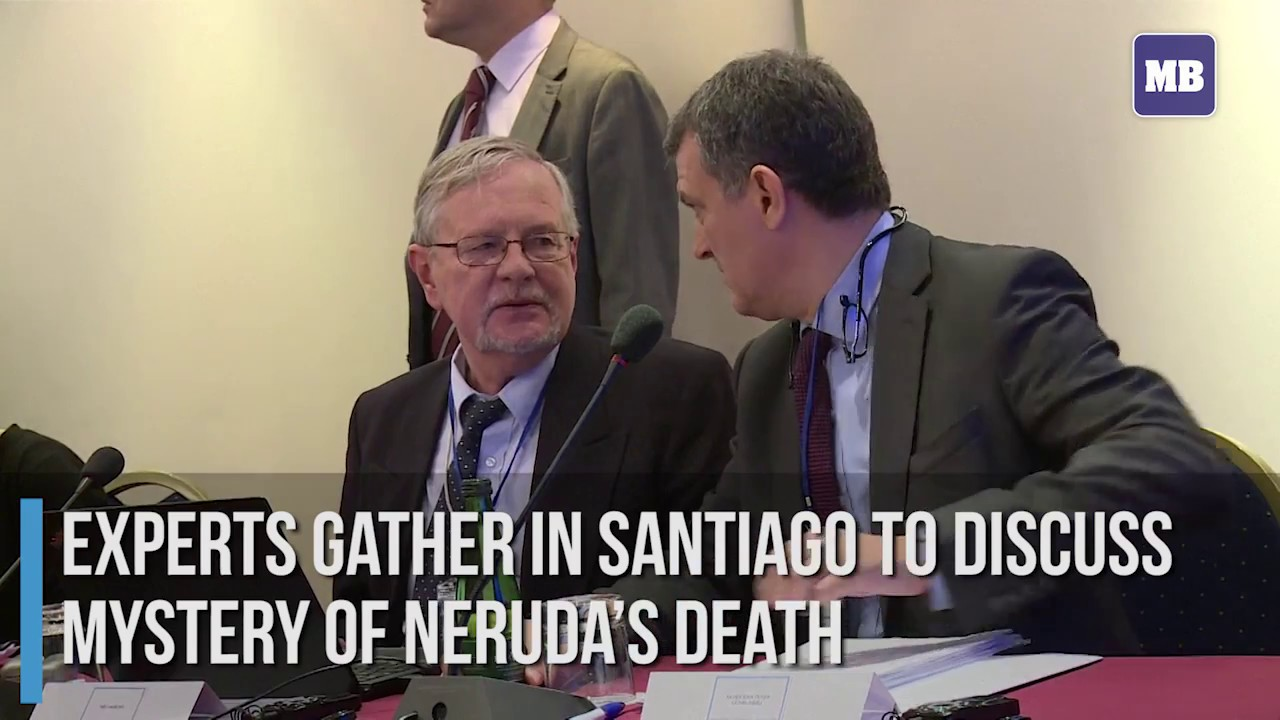 Experts gather in Santiago to discuss mystery of Neruda's death