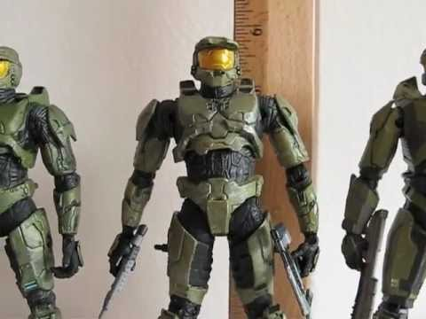Watch Full  mcfarlane master chief evolution 3 pack Movies Trailer