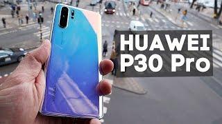 Первый обзор HUAWEI P30 Pro! Нереальные камеры, которые уделывают всех