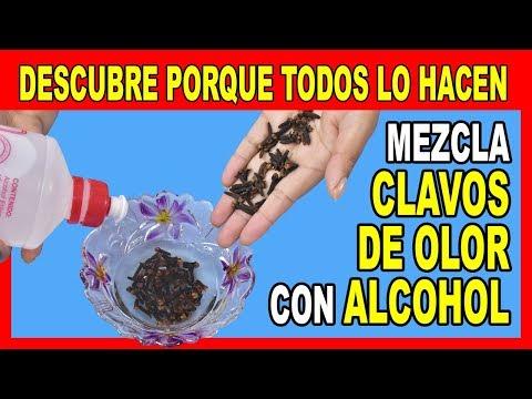 Esto es Viral en Internet porque SI FUNCIONA ¡Mezcla Alcohol con Clavos de Olor y me Agradecerás!