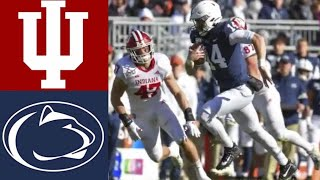 Indiana vs #9 Penn State Highlights | NCAAF Week 12 | College Football Highlights