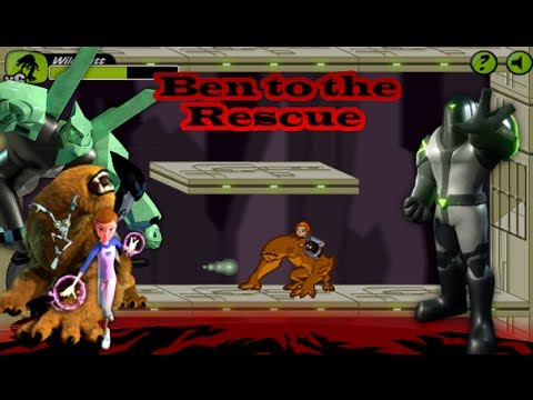 Ben10 – Ben to the Rescue – [ Full Gameplay ]