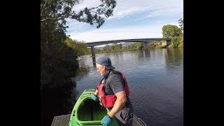 Huon River Kayaking from Judbury to Huonville  15km in 150 seconds 10/4/2018
