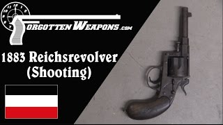 Shooting the 1883 Reichsrevolver