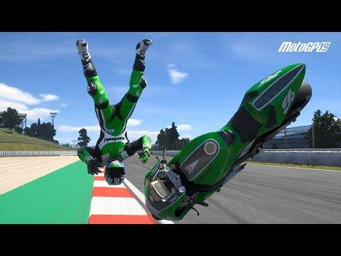 MotoGP 19 - Crash Compilation #8 (PC HD) [1080p60FPS]