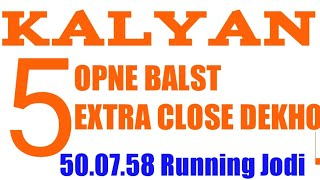 Sattamatka Kalyan 31-01-2019 trick Blast opne 5555 passss Extra close Dekho strong hindi