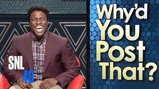 Why'd You Post That? - SNL