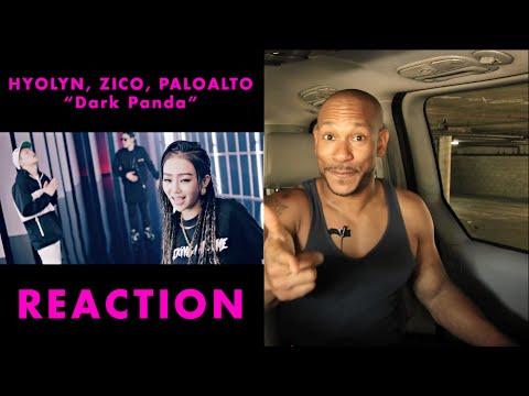 [MV] Hyolyn, Zico, Paloalto(효린, 지코, 팔로알토) _ DARK PANDA(다크팬더) reaction