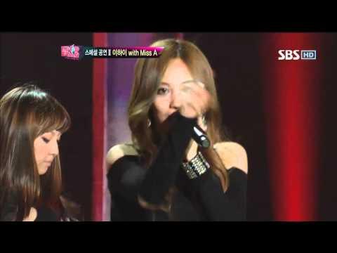 Lee HaYi With Miss A [Bad Girl Good Girl] @KPOPSTAR 20120422 thumbnail