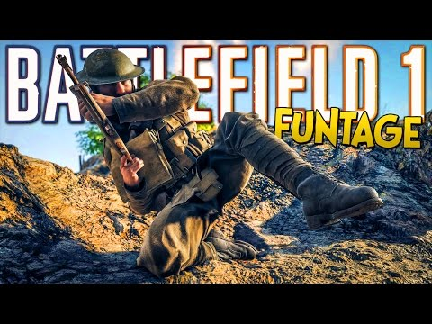 BATTLEFIELD 1 FUNTAGE! - Professional Manhandler, Extreme Stunts, Mortar Troll (BF1 Funny Moments)