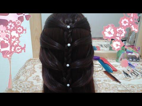 8 peinados faciles rapidos y bonitos con trenzas de moda para niña en cabello largo y mediano