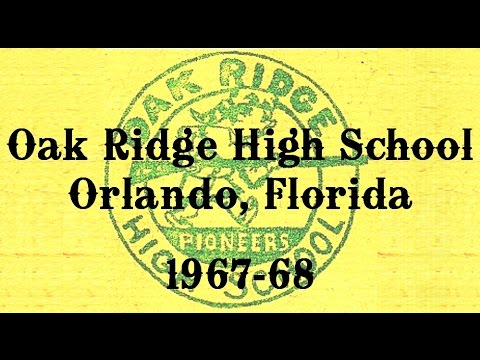 OAK RIDGE HIGH SCHOOL 1967-68