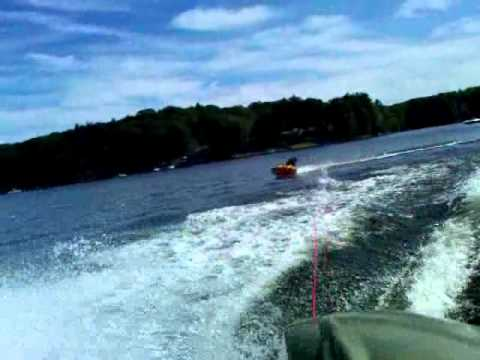 Tubing On Waterman Lake Glocester RI