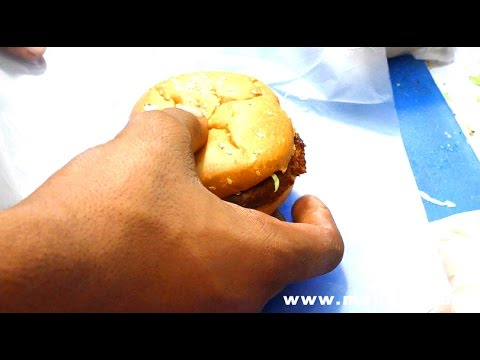 Crunch Burger | Bombay Burgers | Wadala Station | MUMBAI STREET FOOD | INDIAN STREET FOODS