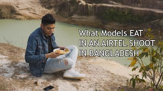 What do Artists EAT in Bangladesh TV COMMERCIALS?