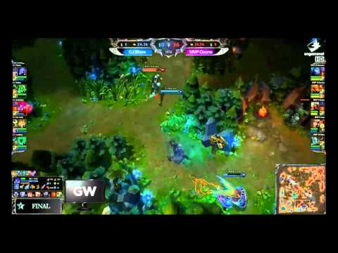 OGN Finals MVP Ozone Dade's INSANE Zed play