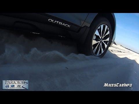 Subaru Beach Sand AWD Test: 2017 Subaru Crosstrek & Outback
