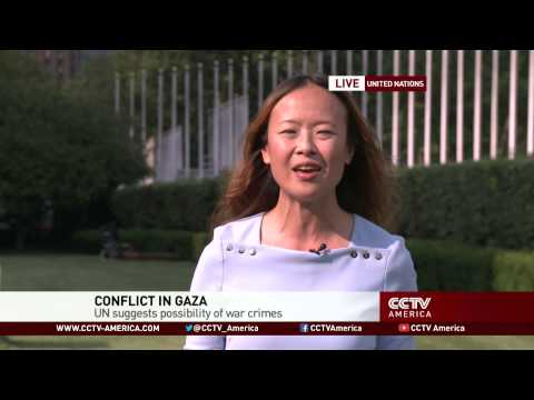 UN suggests possibility of war crimes by Israel