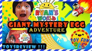 Ryan's World Giant Mystery Egg [August 2018 ToysReview]