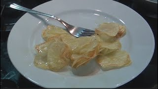 How to make Potato Chips Machine - very delicious and thin potatoes