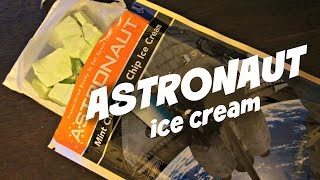 Astronaut Ice Cream Space Food - Whatcha Eating? #157